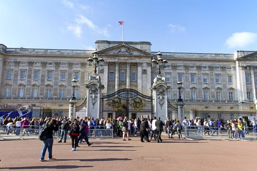 Buckingham Palace is the number one destination for overseas tourists visiting the UK