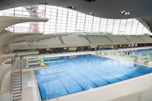 London 2012 Aquatics Centre opens