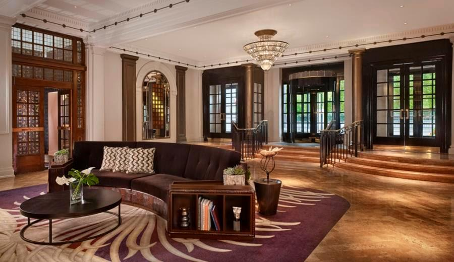 The designers drew on the hotel's Art Deco heritage with the interiors / MKV