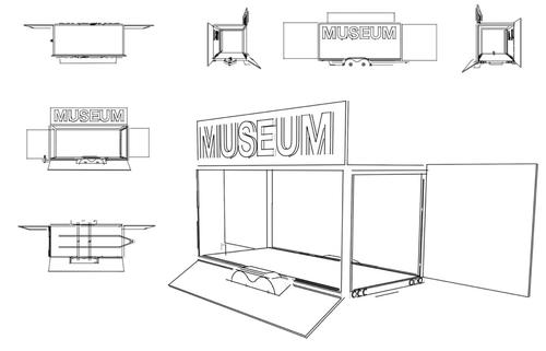 The museum will be mobile so it can tour from site to site / Dharavi Design Museum