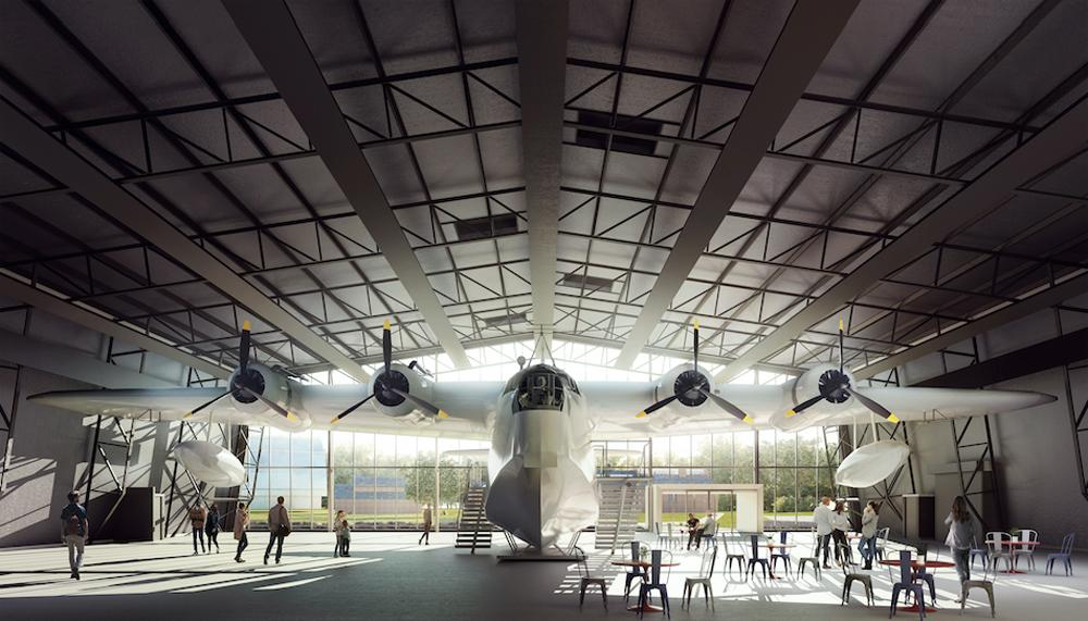 The Sunderland bomber exhibition will be carefully renovated / Hayes Davidson