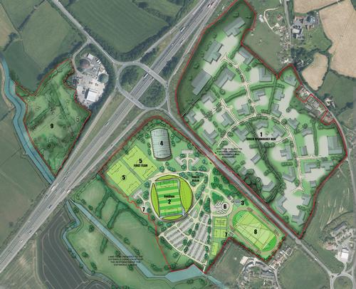 The Eco Park will include a flexible stadium for Forest Green Rovers and a green technology park