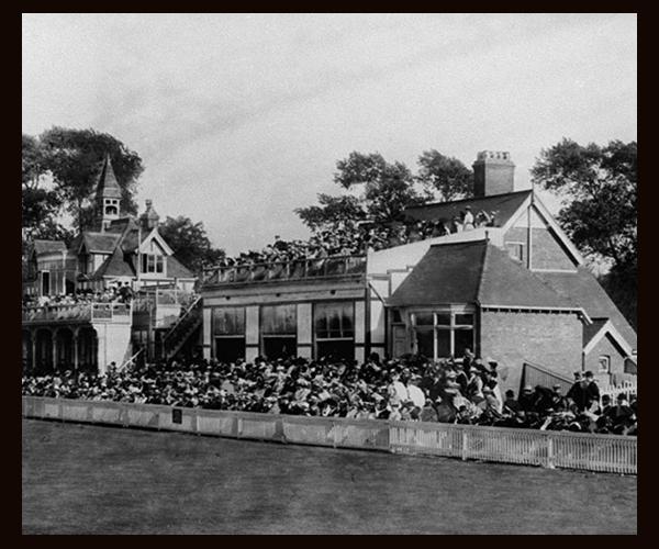 Edgbaston Cricket Ground in 1895