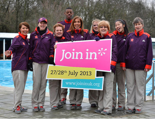 London 2012 volunteers are among those being encouraged to help out with local sport as part of the campaign