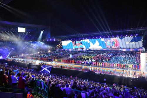 The Games attracted an estimated 690,000 visitors to Scotland during the Games