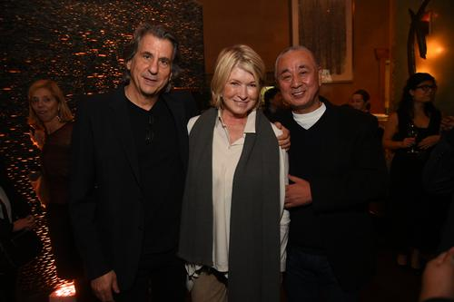 Rockwell and Nobu were joined by Martha Stewart at a special launch in New York / Joe Schildhorn, Ben Gabbe