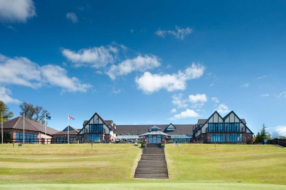 The 56-bedroom luxury hotel is located within 350 acres of Devon countryside