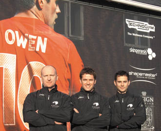 Footballer Michael Owen to co-launch wellbeing clinic