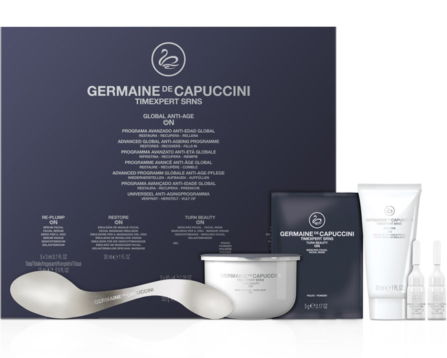 Germaine de Capuccini unveil new treatment to reverse the effects of ageing / Germaine de Capuccini