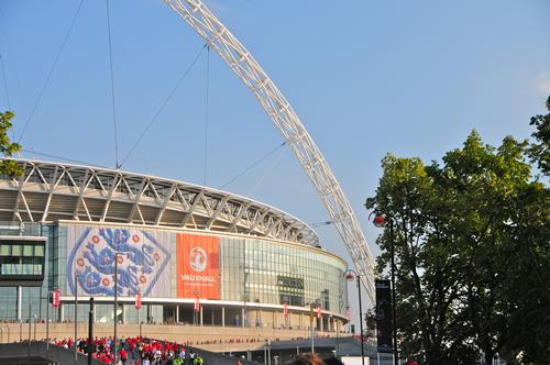 Wembley Stadium will host the Euro 2020 final and semi-finals / Shutterstock.com/Richard Cavalleri