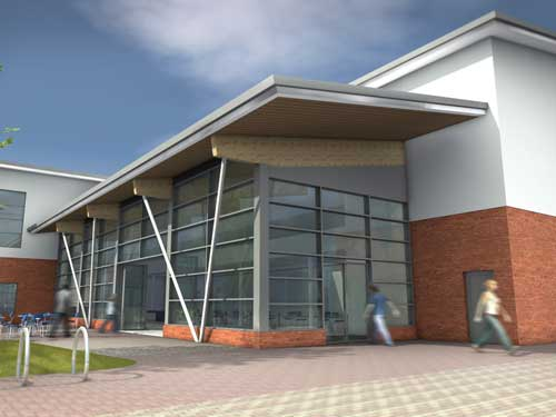 Rugby leisure centre plans submitted