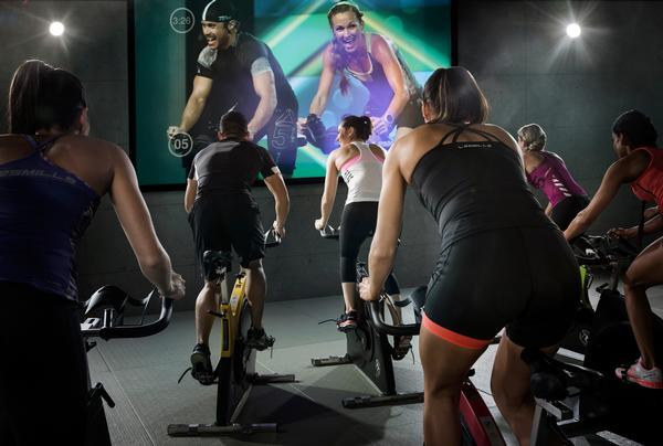 The Les Mills RPM – one of three cycle workouts from the company – is now available on virtual