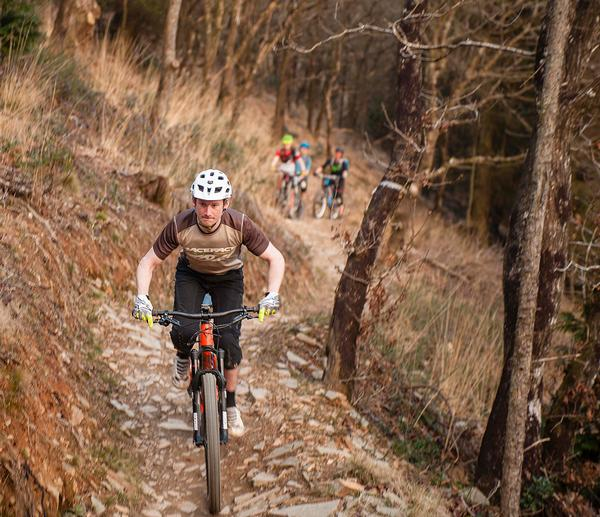 Cardinham is a track for adrenalin junkies, with two tough red-graded trails