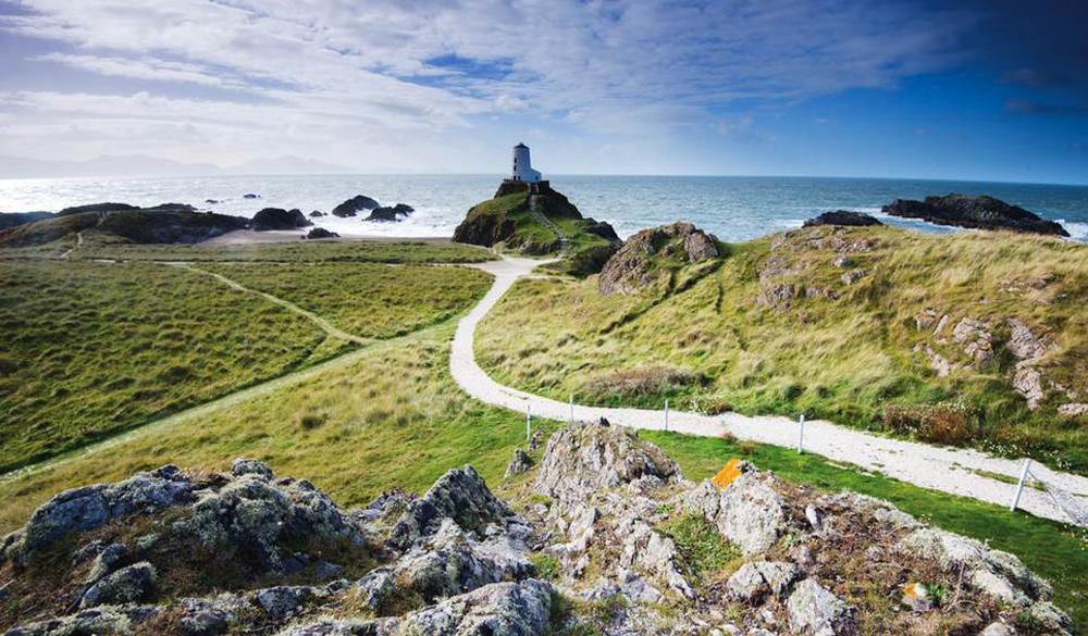 North Wales was named in the top 10 thanks to the region 'reinventing itself'