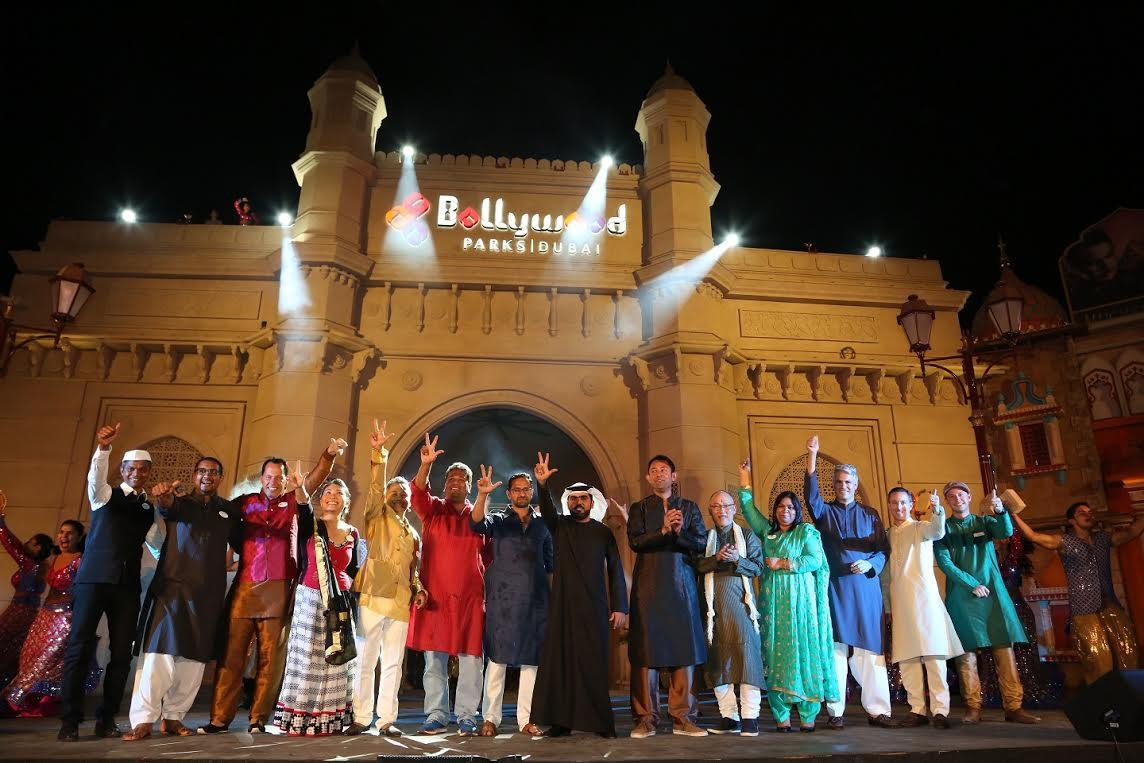 The park opened with live entertainment shows performed by Bollywood artists and dancers