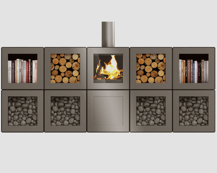 Philippe Starck fuses design, technology and energy performance with modular, app-controlled heating furniture