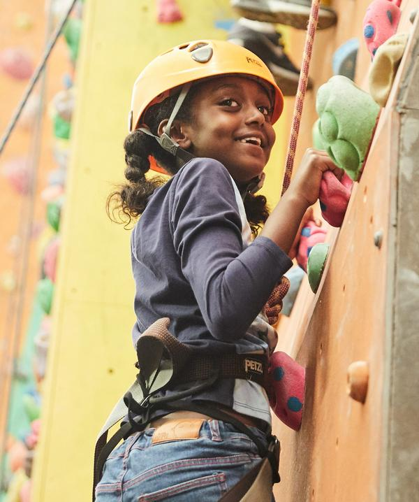 There are around 200-250 climbing walls in the UK