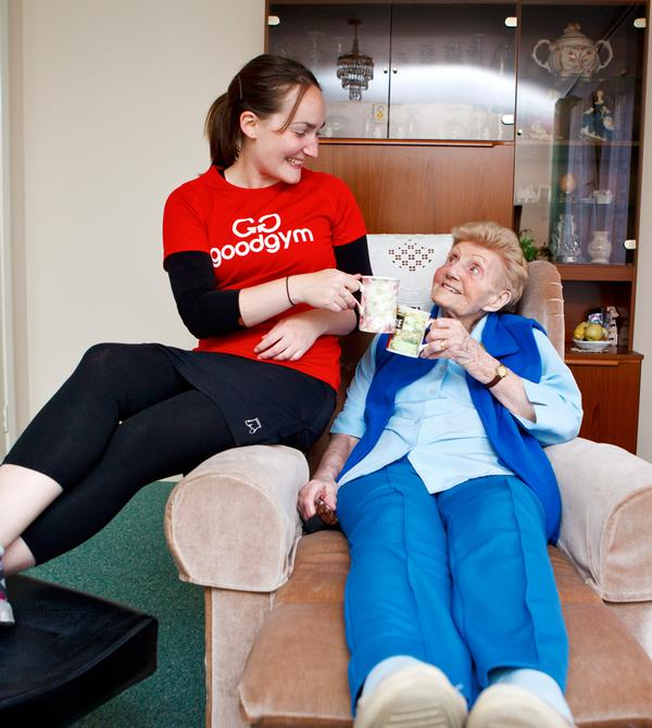 Both runners and the elderly benefit from the scheme