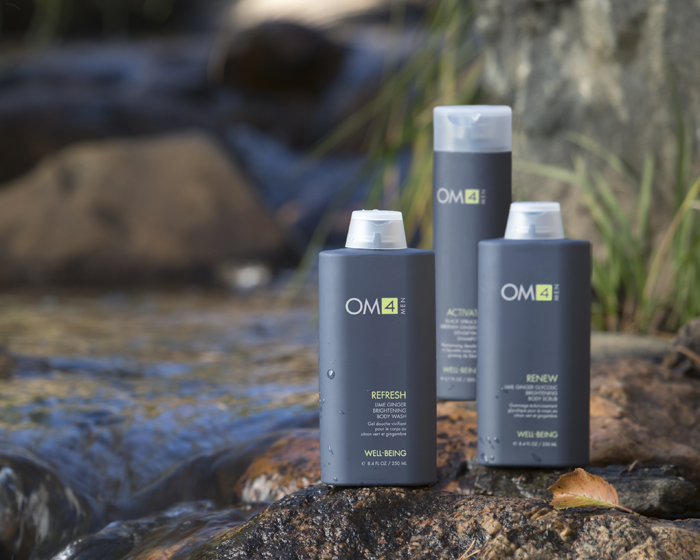 Well-Being consists of three skincare collections designed exclusively for men