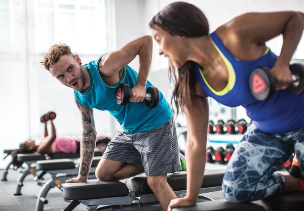A sociable gym environment is essential for consistent member retention Image courtesy of The Gym Group.