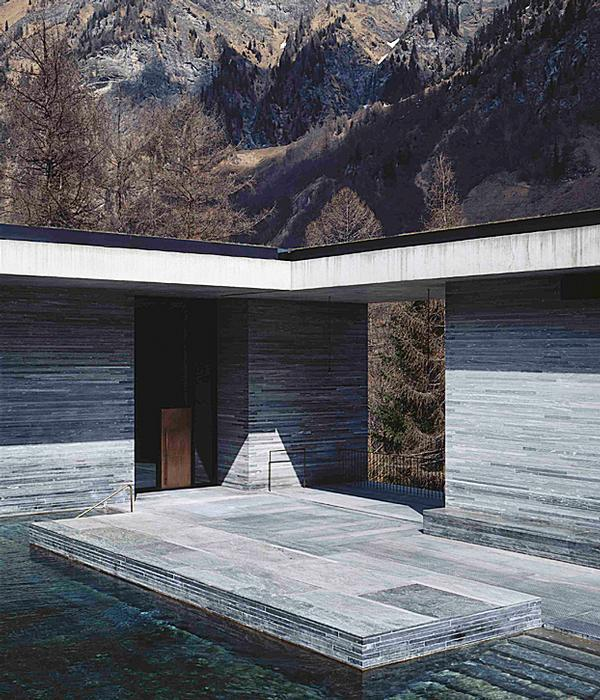 Therme Vals in Vals, Switzerland