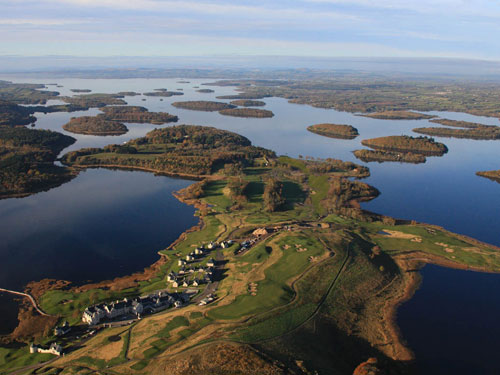 Lough Erne Hotel and Golf Resort features two Championship courses