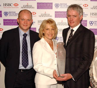 Rosemary Conley clubs take 2005 franchise award
