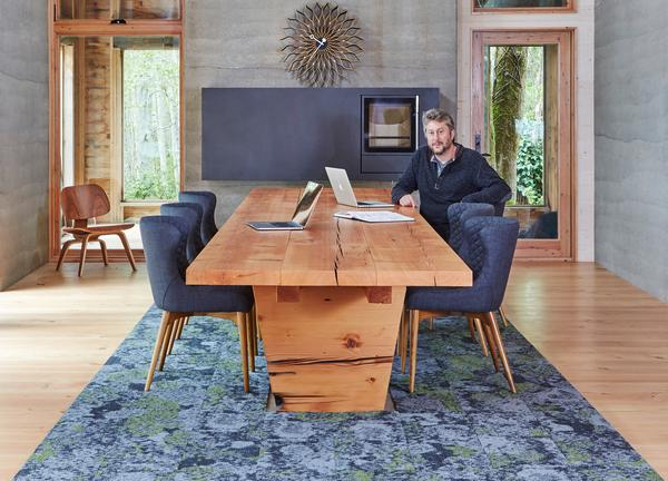 Jason McLennan is an environmentalist with a lifelong commitment to well building design