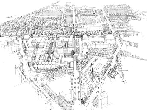 Qatari Diar's masterplan for the Chelsea Barracks site