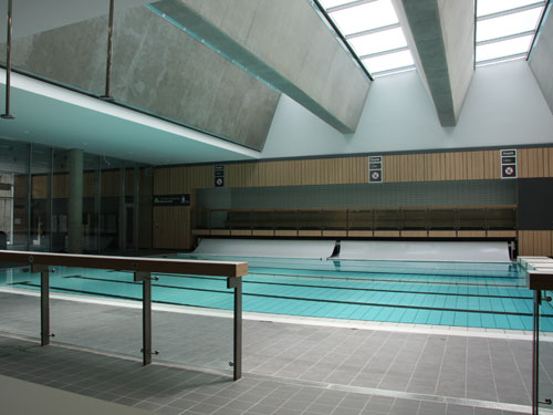 The swimming pool at the Swan Leisure facility in Dublin