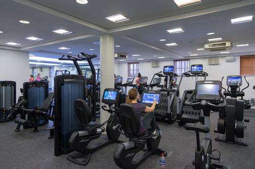 Indie hotel gym given New Year's facelift