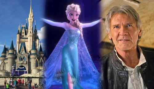 Disney's theme park division, along with the <i>Frozen</i> and <i>Star Wars</i> IPs, were credited largely for the success / Disney