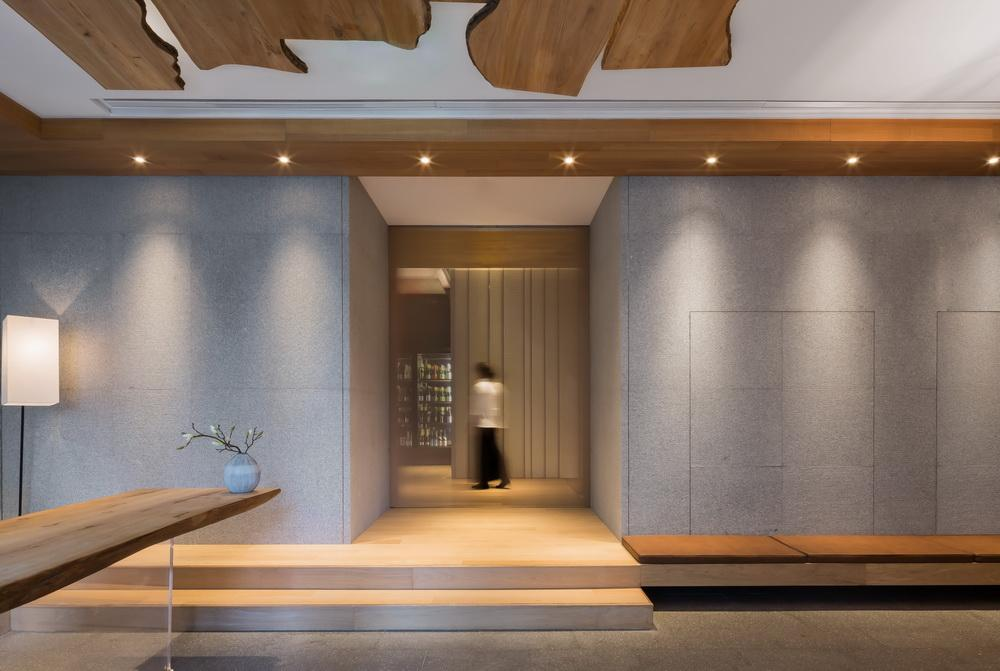 Traditional spa design inspires Shanghai restaurant conceived as