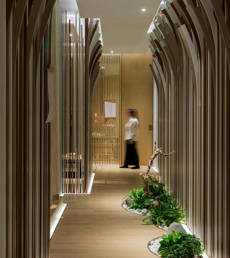 Spa design  Traditional spa design inspires Shanghai restaurant conceived as ...