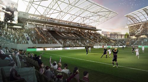 The stadium will have a 22,000 capacity / LA FC