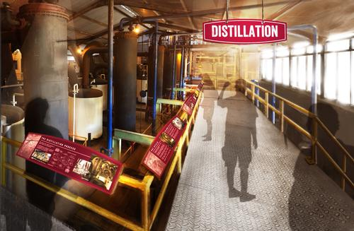 There will be an expansive outdoor tour of the estate grounds, distillery and ageing house
