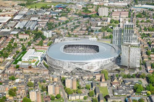 Populous created an atmospheric bowl configuration to increase proximity and noise levels / Tottenham Hotspur