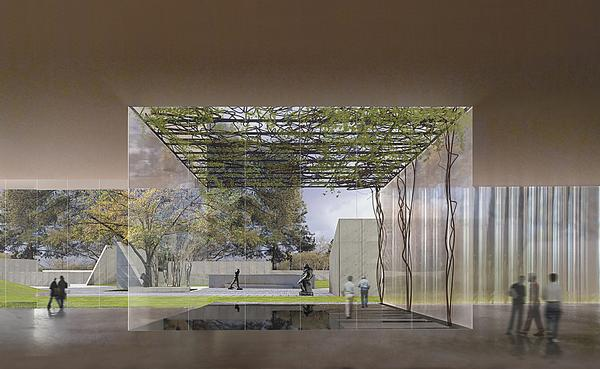 Holl is expanding the Museum of Fine Arts in Houston