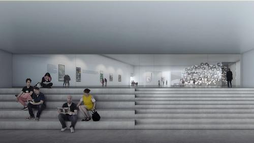 The extension will open to the public in 2020 / Beauty & The Bit