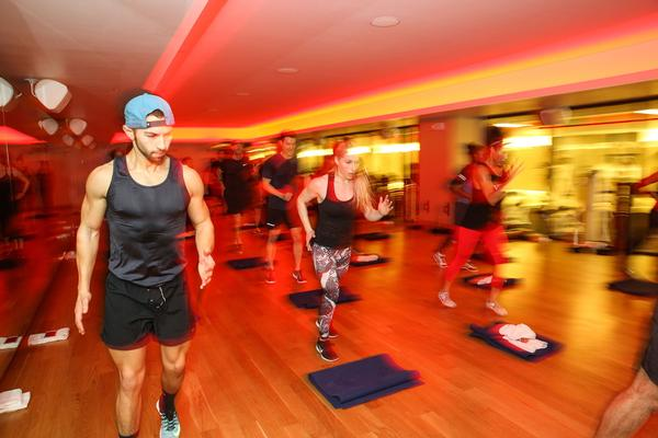 Equinox's HeadStrong class: Designed to target stress