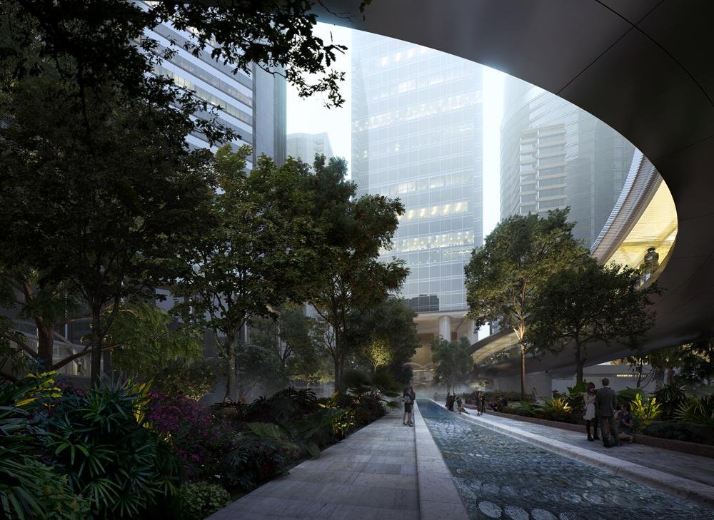 The 69,000sq ft (6,400sq m) project is being developed as part of the major HK$15bn commercial Taikoo Place scheme / MIR