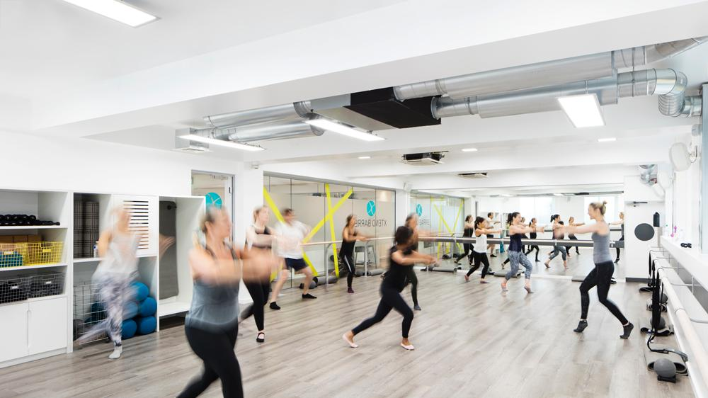 Xtend Barre is a fusion of ballet, dance and Pilates / Rory Gardiner