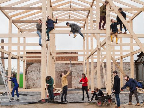 London-based Assemble launched an urban regeneration project in Liverpool using art, culture and architecture to change lives / Assemble