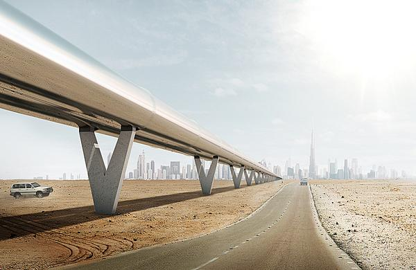 Passengers could travel from Dubai to Abu Dhabi in 12 minutes