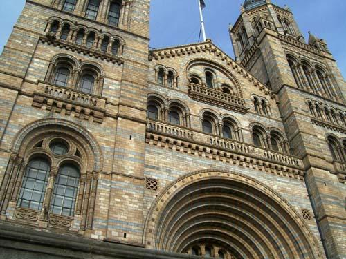 The Natural History Museum is one of Britain's most visited attractions