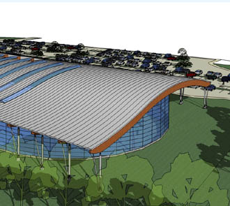 Health club management 35m leisure centre proposed for - Bangor swimming pool northern ireland ...