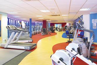 Finesse completes hatfield swim centre refurbishment posted 17 feb 2006 for Palatine swimming pool blackpool