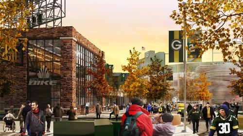 The franchise hope Titletown will boost the area's economic prospects / Rossetti
