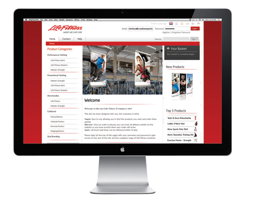 Life Fitness launches global online store