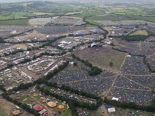 Thousands of people attend UK festivals and concerts each year